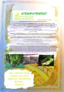 Steinpatenfest 2015
